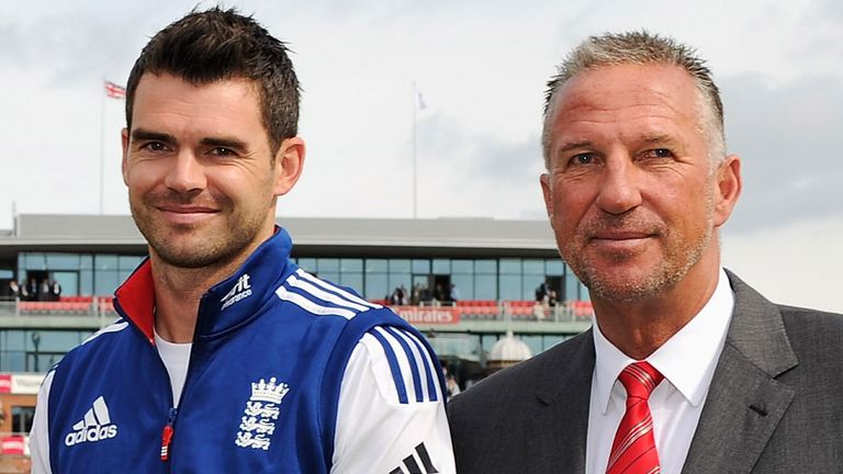 Sir Ian Botham: Thinks James Anderson could break his record at the Kia Oval.