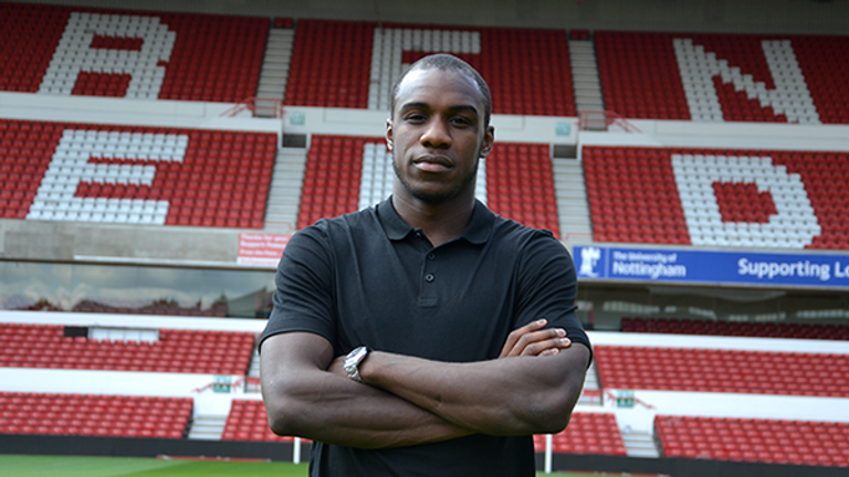 Michail Antonio: Has signed for Nottingham Forest