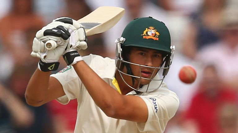 Ashton Agar: Australia's No 11 fell just shy of a hundred