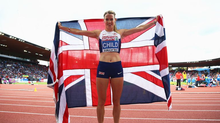 Eilidh Child: Went one better than at the Commonwealth Games in Glasgow