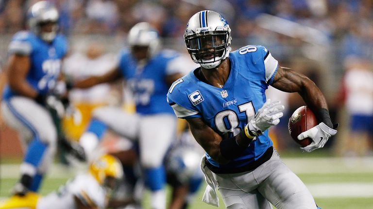 Calvin Johnson: Carries much of the offensive burden for the Lions