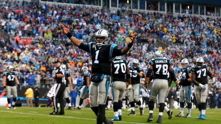 Can Cam Newton carry Carolina?