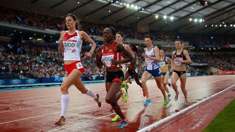 Judd impressed as she won the women's 800m semi-final at Hampden Park