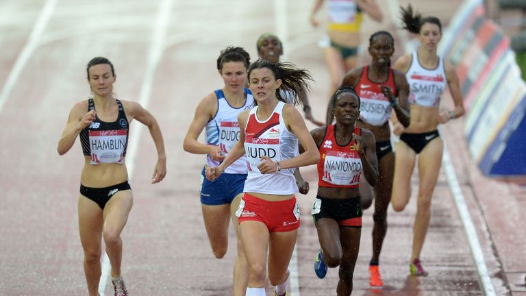 Jessica Judd: Won through to the 800m final with an impressive run