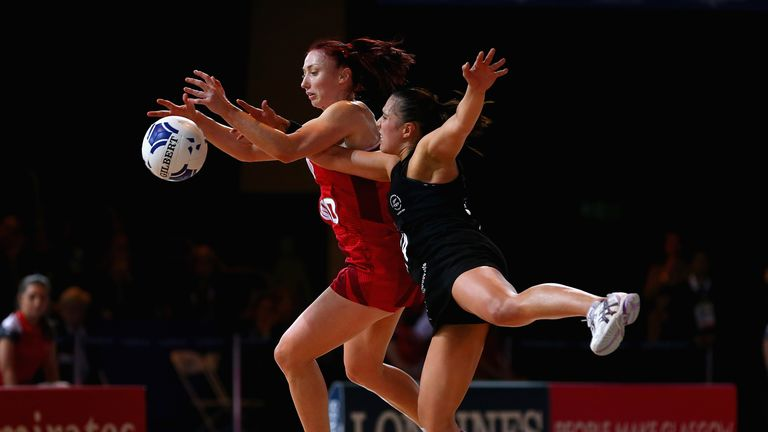 Jade Clarke: the England captain spent time on the bench during the Games which surprised some