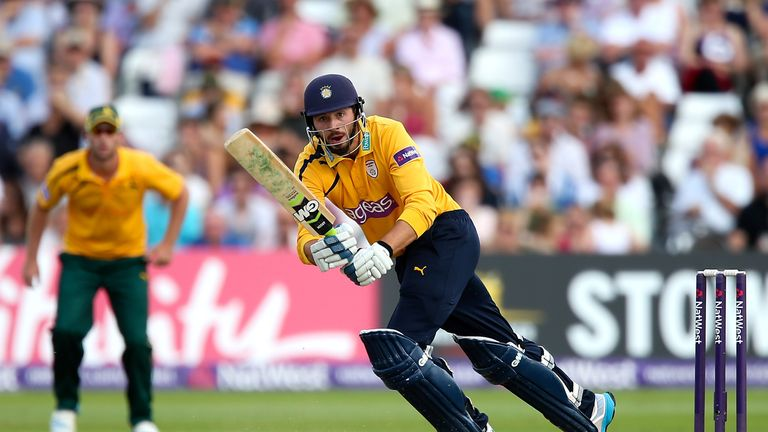 James Vince: Key man for Hampshire Royals