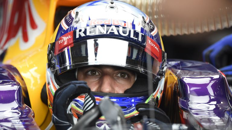 Daniel Ricciardo: Lines up fifth in Belgium