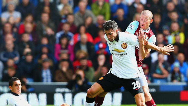 David Jones: Burnley midfielder put Manchester United under pressure