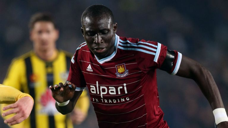 Mo Diame: The midfielder joins Hull after two years at West Ham