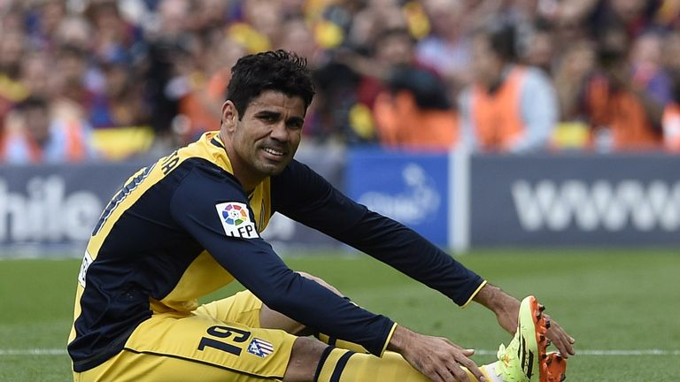 Costa suffered hamstring problems last season at Atletico Madrid