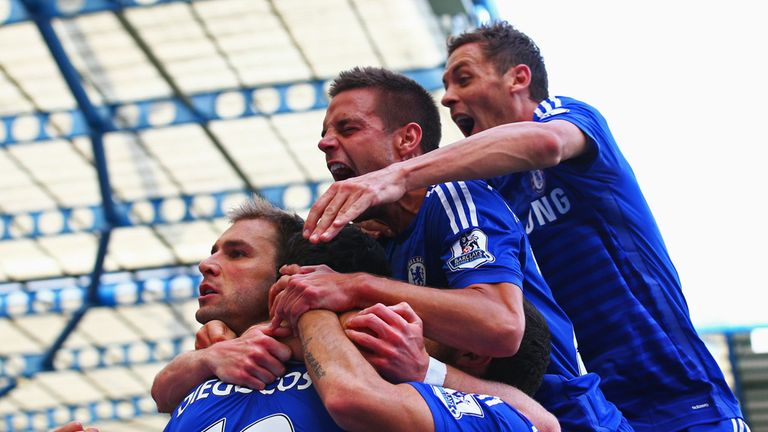 Chelsea: topped the table after beating Leicester