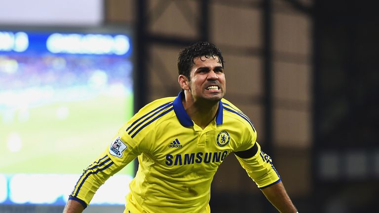 Diego Costa: On target twice and impressive in Chelsea's 6-3 win at Everton