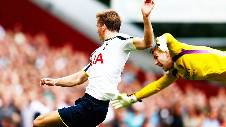 Eric Dier: Tottenham defender scored the winning goal against West Ham on his debut