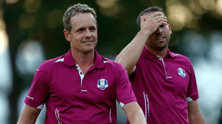 Luke Donald has formed a formidable Ryder Cup partnership with Sergio Garcia