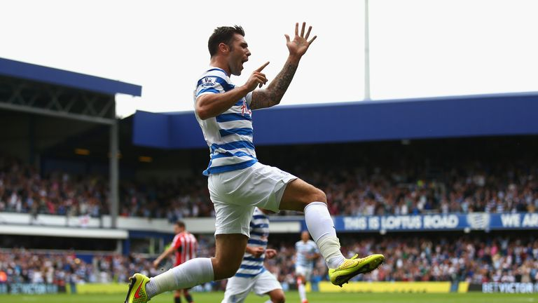 Austin: Scored at every level of the English football league after claiming QPR's first goal of the season