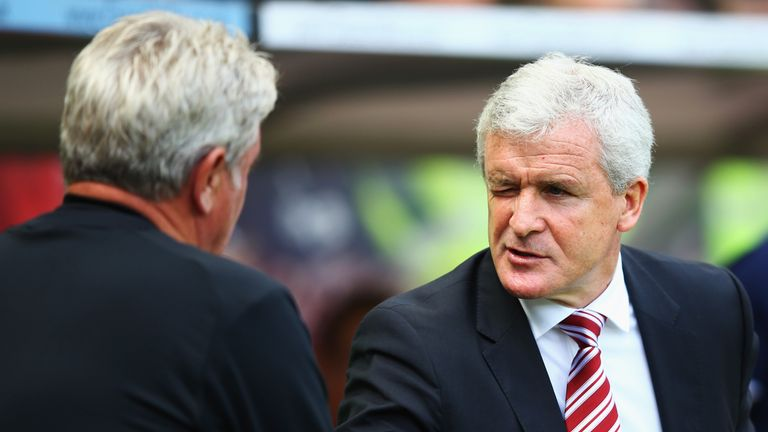 Mark Hughes: Stoke City manager wants improvement