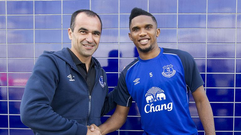 Samuel Eto'o: In with a chance of facing Chelsea at the weekend
