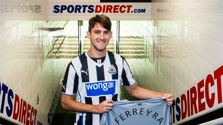 Facundo Ferreyra: Shakhtar Donetsk striker completes Newcastle loan