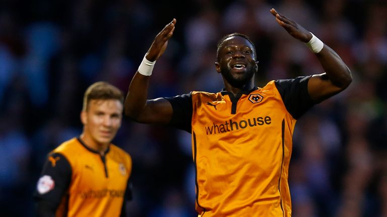Bakaray Sako: Scored twice for Wolves