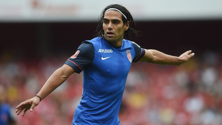 Falcao: In Monaco's squad for their clash against Lorient