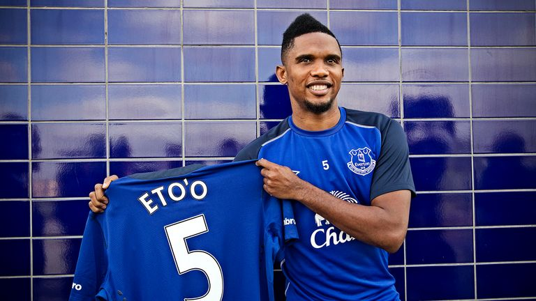 Samuel Eto'o: Focused on Everton after international retirement