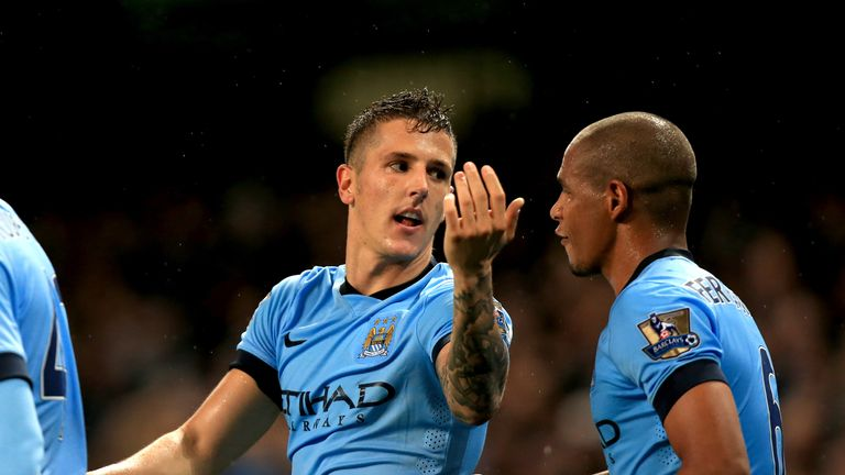 Stevan Jovetic: Back on top form for Manchester City