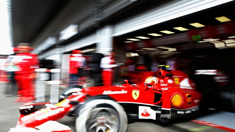 Ferrari: Without a win since Spain 2013