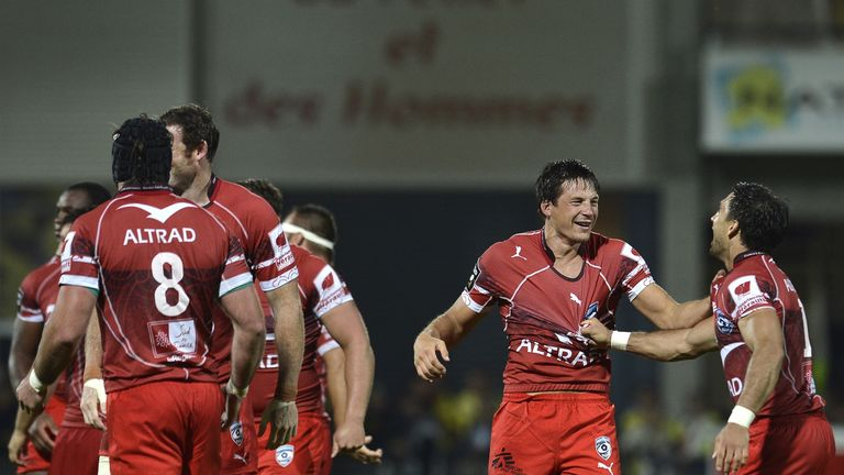 Francois Trinh-Duc: Kicked Montpellier to a memorable victory over Clermont