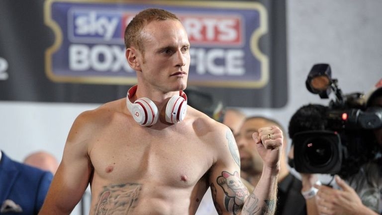 George Groves: will be back live on Sky Sports on September 20