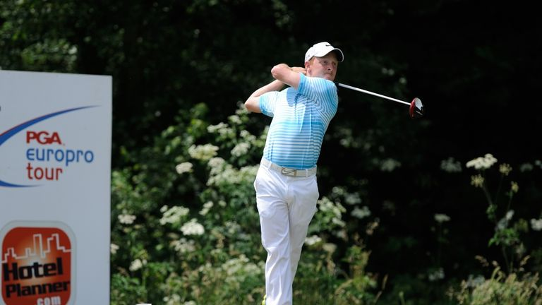 Greg Payne is on his second season on the PGA EuroPro Tour