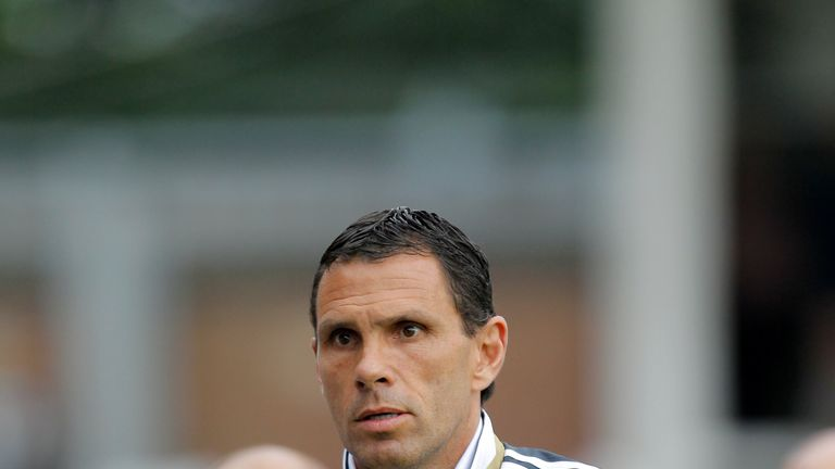 Gus Poyet, manager of Sunderland who have signed a partnership deal with MLS side DC United.