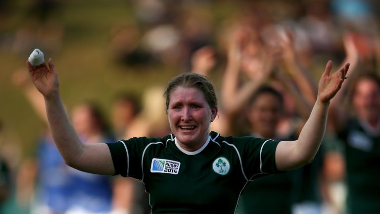 Heather O'Brien: Ireland No 8 has recovered from finger injury