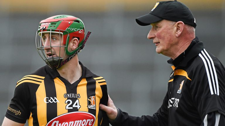 Eoin Larkin won eight All Ireland medals for Klikenny under the guidance of Brian Cody
