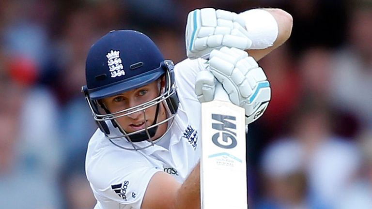 Joe Root, easing through his full repertoire