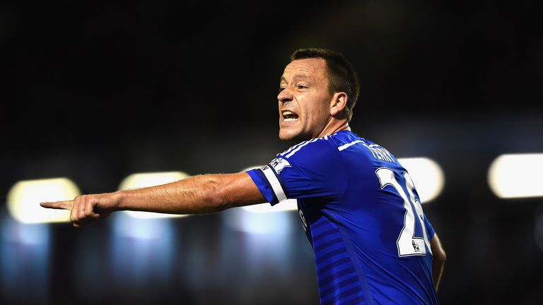 John Terry: Has his sights set on the Premier League title