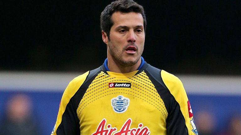 Julio Cesar: Made 27 appearances for QPR after joining from Inter