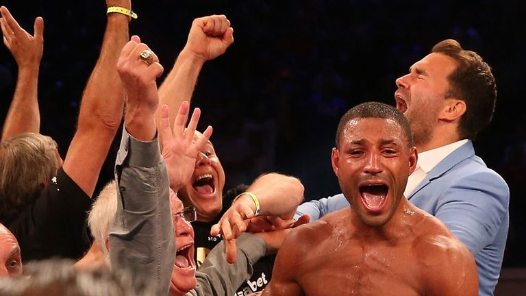 Kell Brook: a terrific performance and an exciting future, says Jim