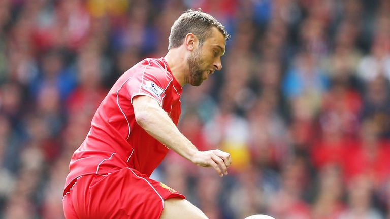 Rickie Lambert: Liverpool striker came off the bench against former club Southampton