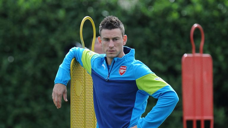 Laurent Koscielny: At training on Monday