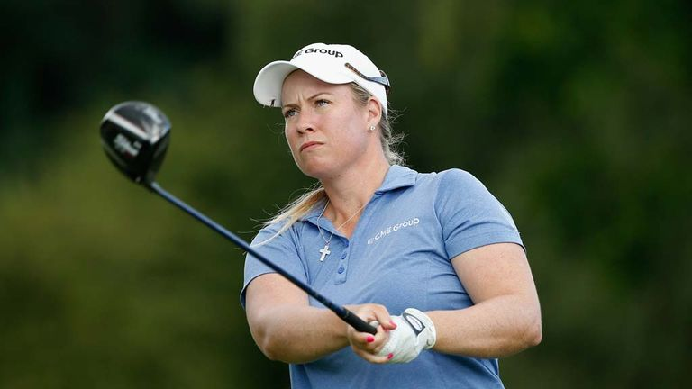 Brittany Lincicome: One shot lead with 18 holes left to play