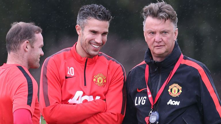 Robin van Persie: Urging Radamel Falcao to fight for a place