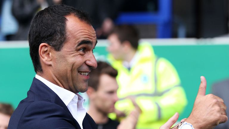 Roberto Martinez: Has a long-term vision for Everton