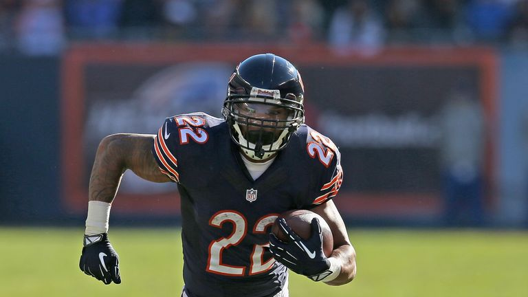 Matt Forte: A major threat in both the running and passing game for Chicago