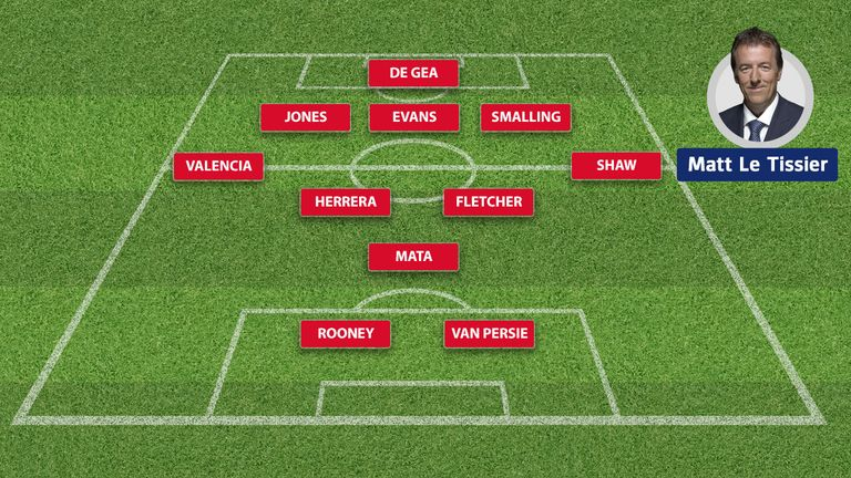 Matt Le Tissier's Manchester United starting XI