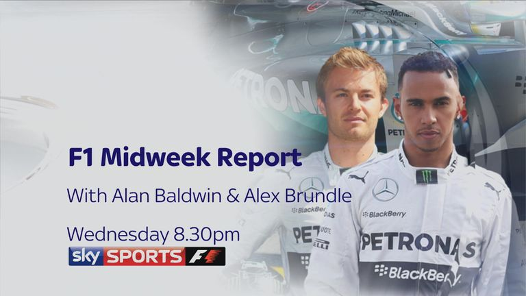 Don't miss the F1 Midweek Report