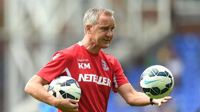 Keith Millen: Crystal Palace interim manager not sure a quick appointment will be made