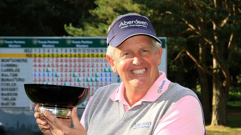 Colin Montgomerie: Successful defence at Woburn