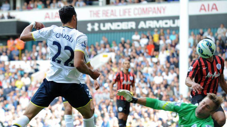 Nacer Chadli: In good form for Tottenham