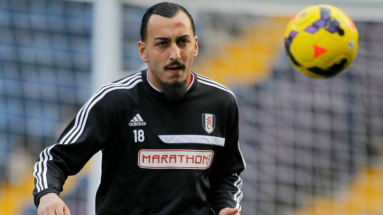 Fulham striker Konstantinos Mitroglou returns to Olympiacos on loan