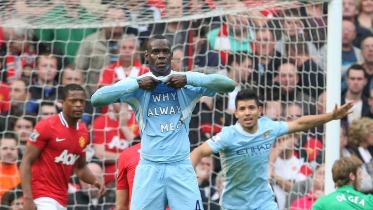 Mario Balotelli: Was never afraid of causing a stir during his time with Manchester City